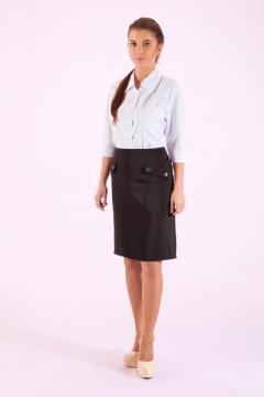 Офисные классические юбки